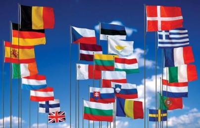 Флаги стран Европейской экономической зоны