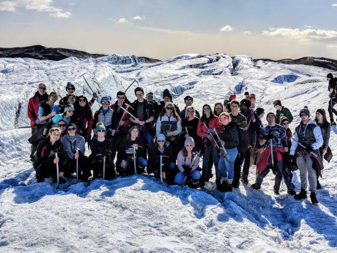 Студенты в Исландии