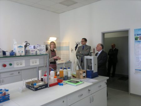 Лаборатория в университете города Нова-Горица