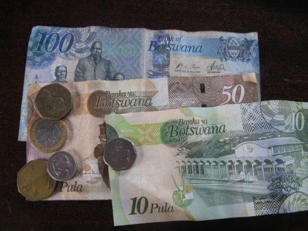 валюта Ботсваны-пула
