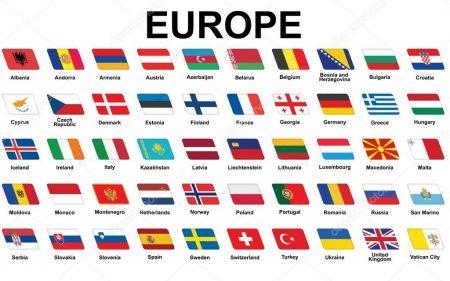 Все страны Европы