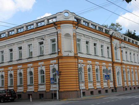 Здание посольства Испании в Москве