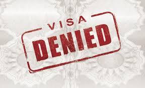 Отказа в выдаче визы