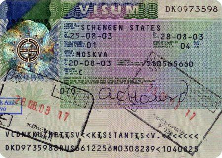Виза в Данию: список документов и образец заполнения анкеты