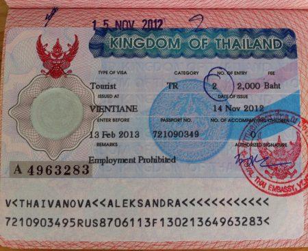 Туристическая виза в Лаос