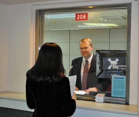 собеседование в посольстве США