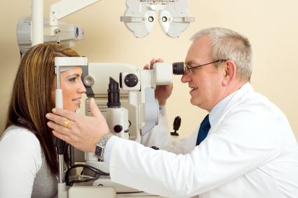 Работа офтальмологом