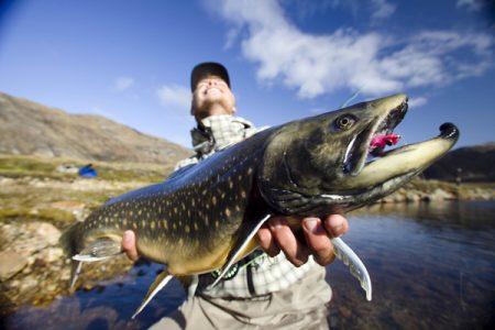 Рыбалка в Гренландии