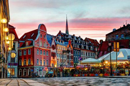 Рига- самый крупный город в Латвии