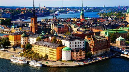 Островной город Стокгольм