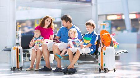 Семья в путешествии