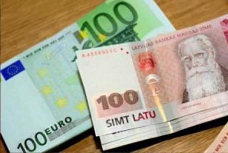 Деньги в Латвии
