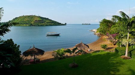 Озеро Киву. Страна Руанда