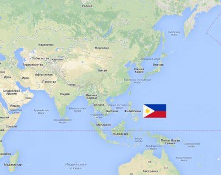 Филиппинына карте