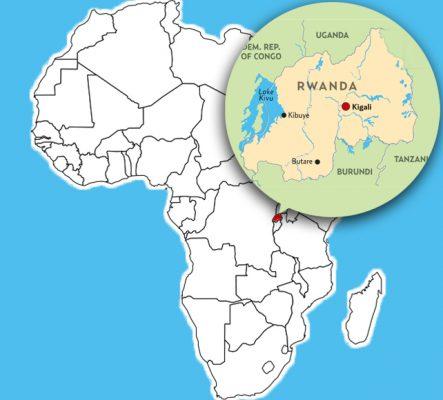 Страна Руанда