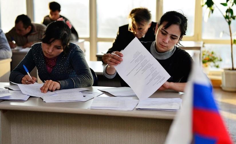 Экзамены для мигрантов на знание русского языка