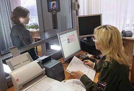 Подача документов в МВД