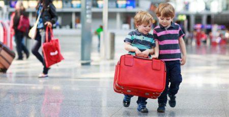 дети едут заграницу