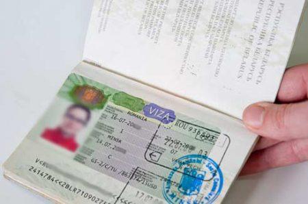 виза в Румынию для белорусов