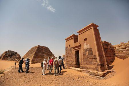 Пирамиды Мероэ, Судан