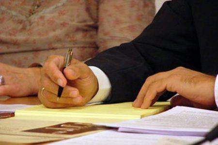 Заявление можно написать от руки
