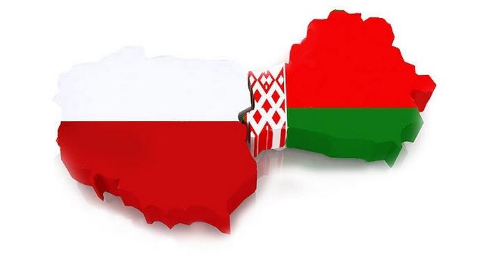 Карты Беларуси и Польши