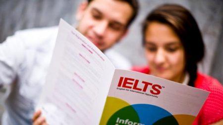 Прохождение теста IELTS.