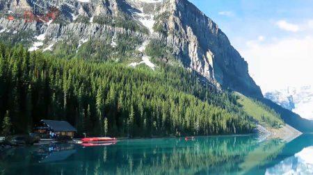 Озеро Морейн, Альберта
