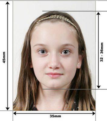 фото на визу для ребенка