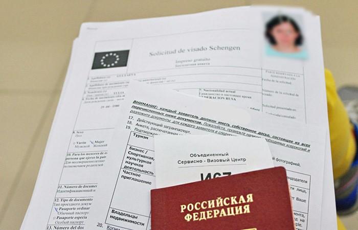 Какие документы для визы в испанию
