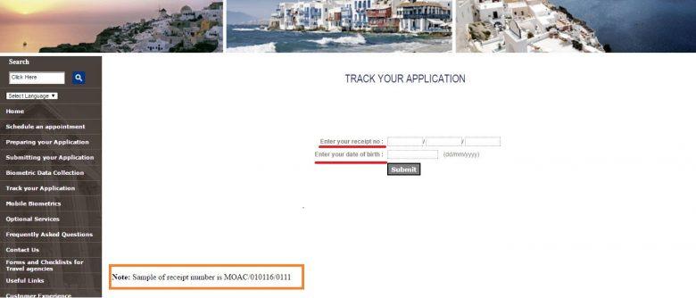 Проверка готовности визы по регистрационному номеру