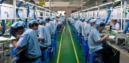 Работа на производстве в Южной Корее