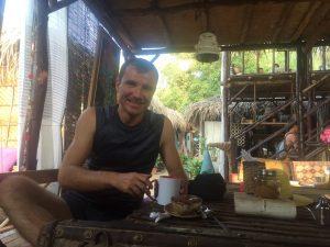 Борис Соколов ( руководитель центра Visasam ) на Гоа в Арамболе
