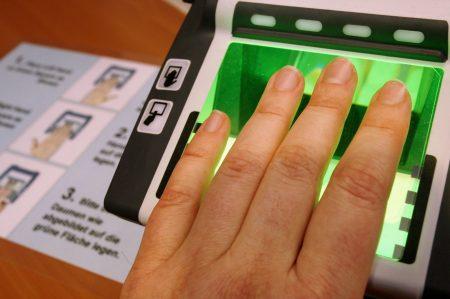 Сдача биометрических анализов для визы