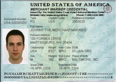 Разворот американского паспорта