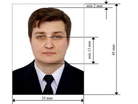 пример фото для получения гражданства РФ