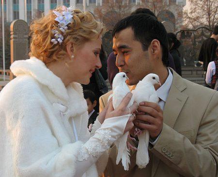 свадьба с таджиком