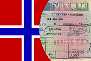 Заполнение анкеты на визу в Норвегию