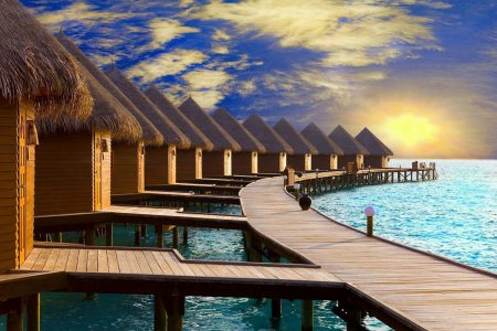 Спа-курорт InterContinental Bora Bora