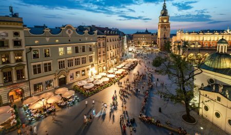 Дворцовая площадь в Варшаве, Польша