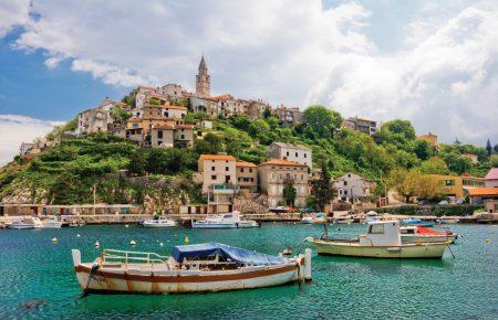 г. Дубровник на берегу Адриатического моря, Хорватия