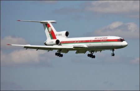 Самолет из Беларуси