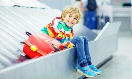ребенок едет в НИдерланды