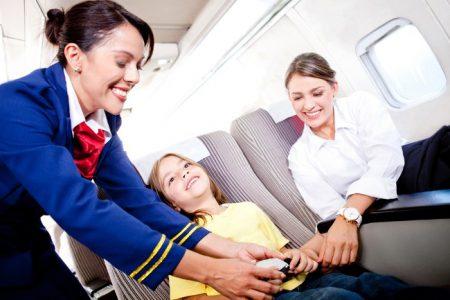 Ремни безопасности в самолете