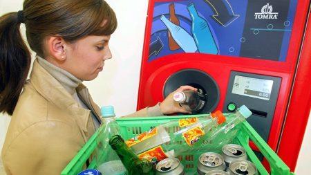Сдача пустой тары в автоматы