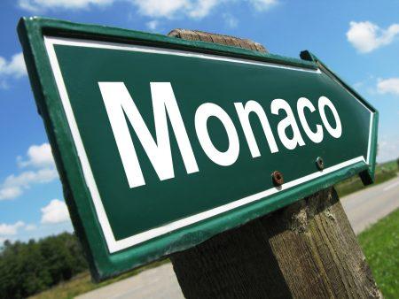 Монако указатель