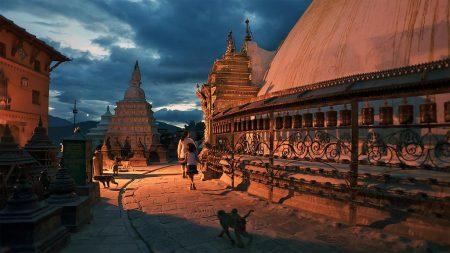вечерний Непал