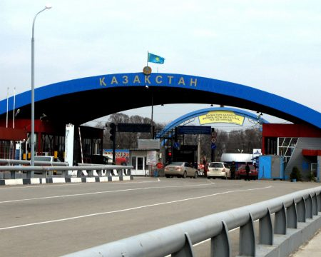 Граница между Россией и Казахстаном