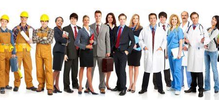 люди различных профессий