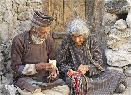 Пожилые люди в Индии